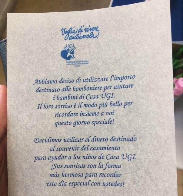 Bomboniere Matrimonio Zurigo.Pergamena Bomboniere Solidali Prima Delle Nozze Forum
