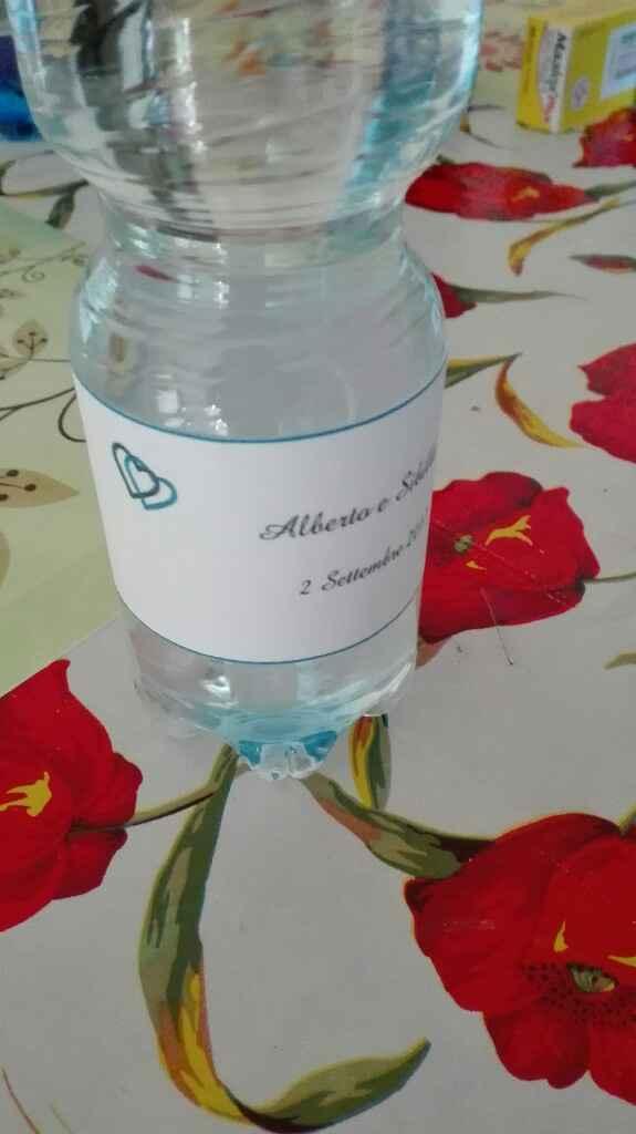 Altro fai da te :) bottigliette per la wedding bag :) - 2