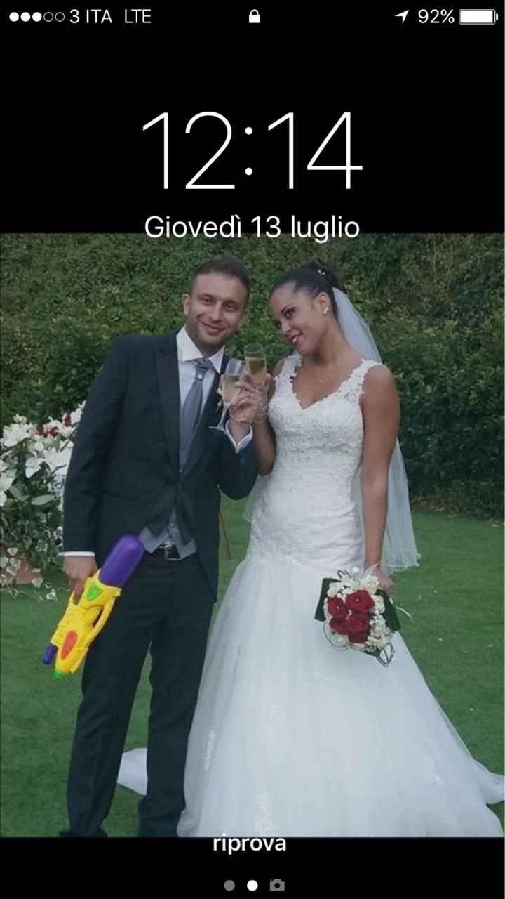 Sposine che foto.avete come sfondo del vostro cellulare? - 2