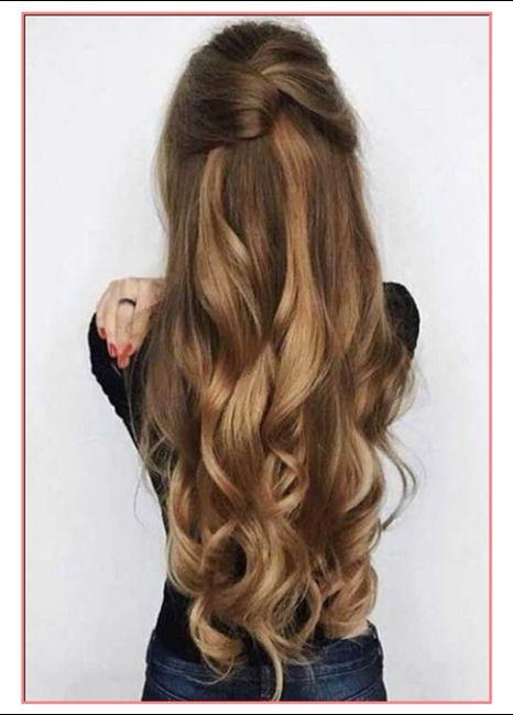 Acconciature semplici capelli lunghi 2019