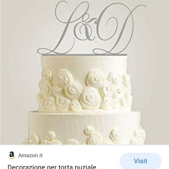 Cake Topper torta nuziale 🎂 2