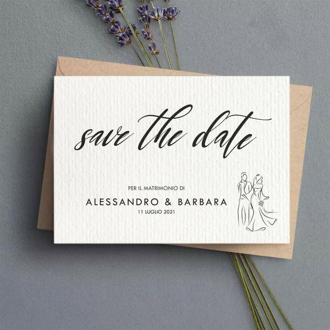 partecipazioni e save the date 1