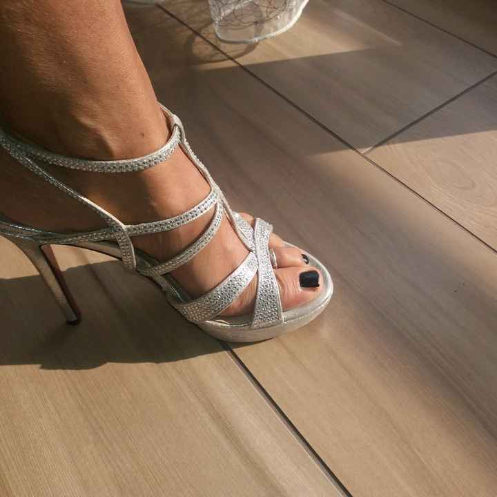 Scarpe sposa non bianche - 1