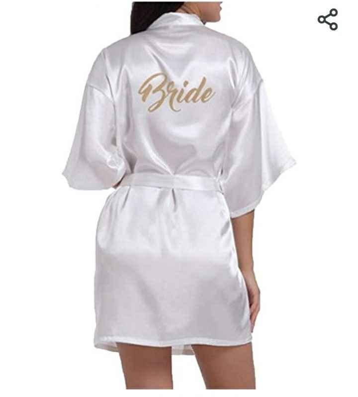 Alla ricerca della vestaglia da sposa... Lunga o corta? - 1
