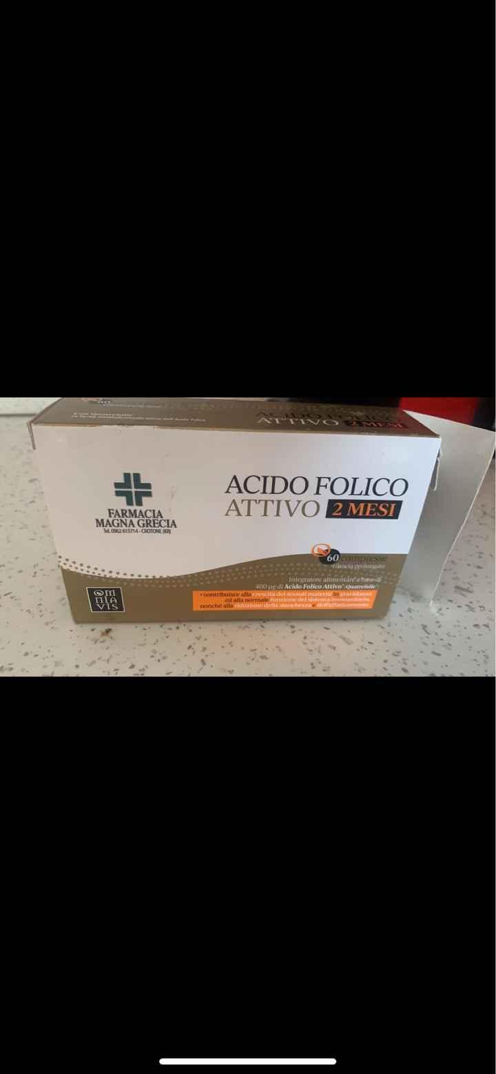 Assunzione del acido folico - 1