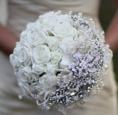 Bouquet Sposa Con Perle.Bouquet Con Perline Helppp Fai Da Te Forum Matrimonio Com