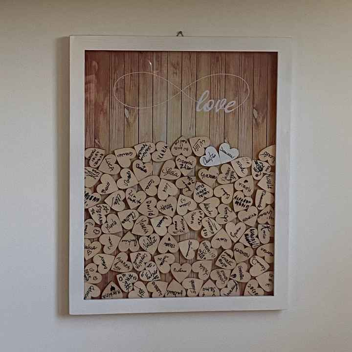 Esperienza acquisto guest book cuori legno - 1