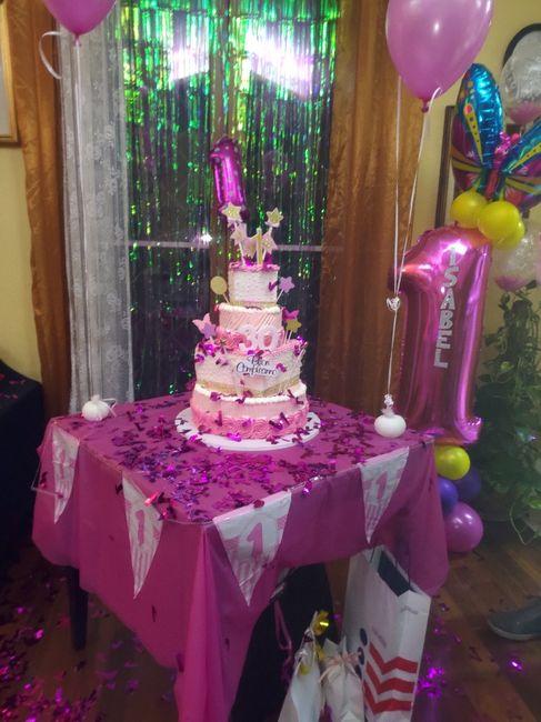 Primo compleanno in fucsia 3
