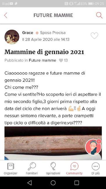 Future mamme di Gennaio 2021 3