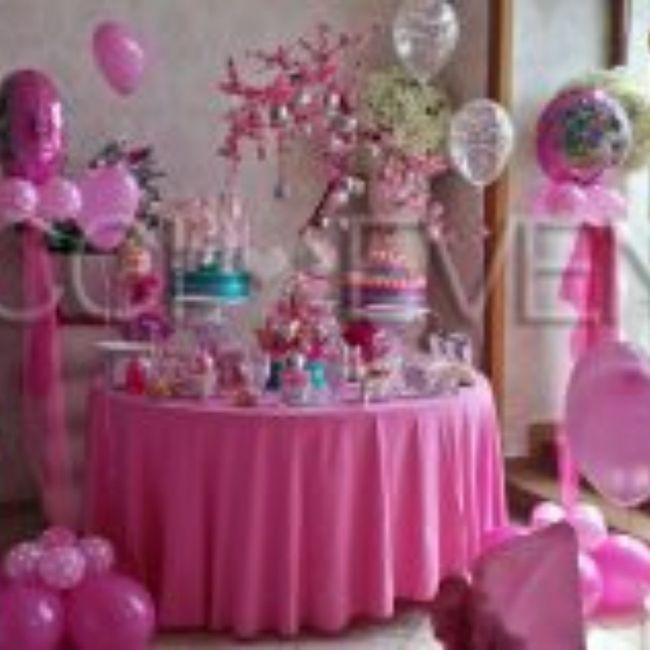 Primo compleanno in fucsia 1