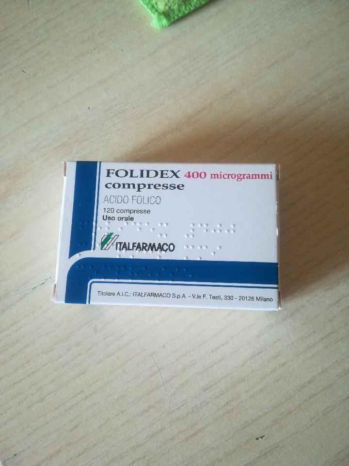 Acido folico prima della gravidanza - 1