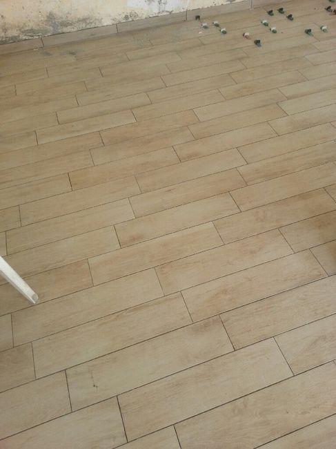 gres porcellanato effetto legno colore fuga : Di che colore le faccio le fughe su questo gres effetto legno?? - 1 ...