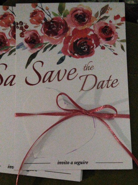 Che ne pensate? Save the date ritirati. - 1