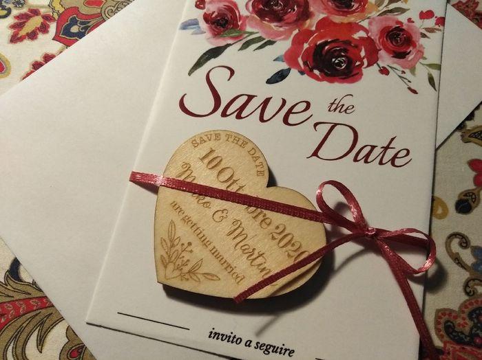 Save the date pronti - 1
