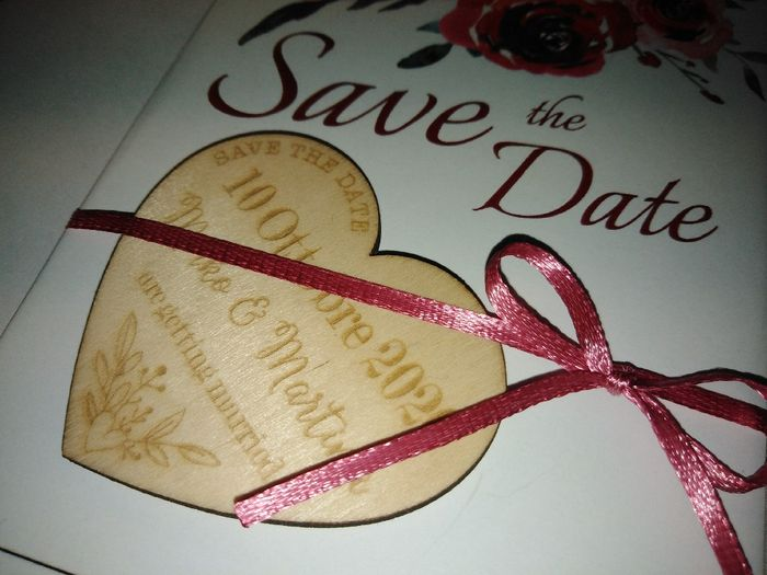 Save the date pronti - 2