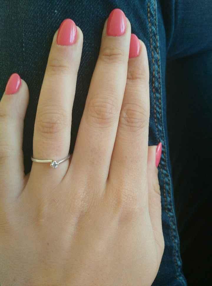 Mi fate vedere il vostro anello della proposta?? - 1