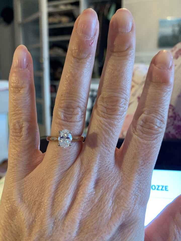 In che modo ti prendi cura del tuo anello di fidanzamento? - 1