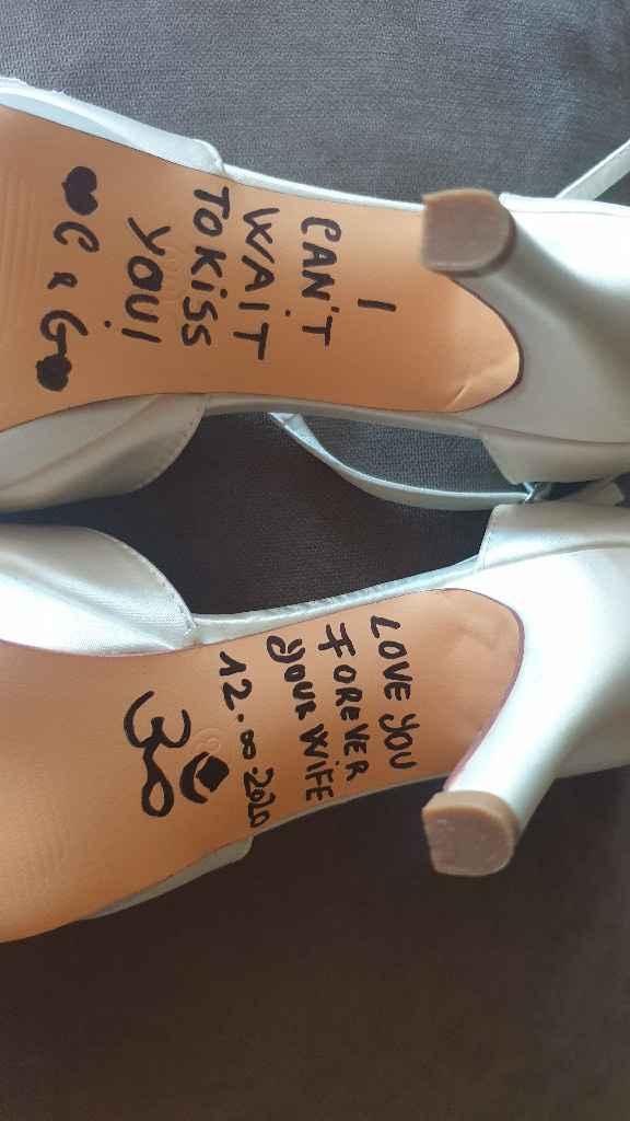 Scritta sotto le scarpe pronta 🤩 -2 - 1