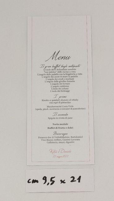 Un esempio di menu romantico 5