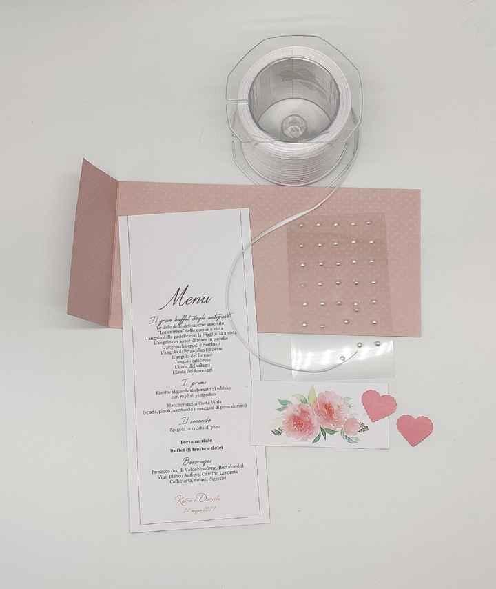 Un esempio di menu romantico - 2