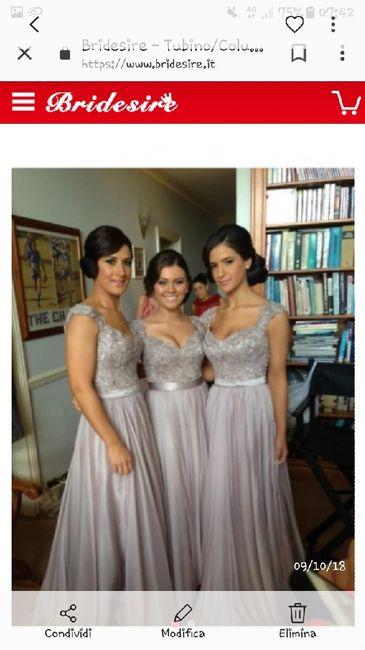 704fc6513ba9 Damigella - Moda nozze - Forum Matrimonio.com