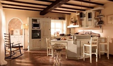 Allora questo più o meno è il colore della cucina Anche il pavimento ...