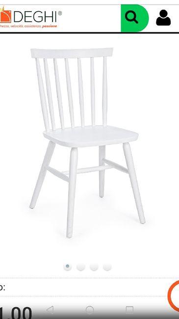 Consiglio abbinamento sedie 3