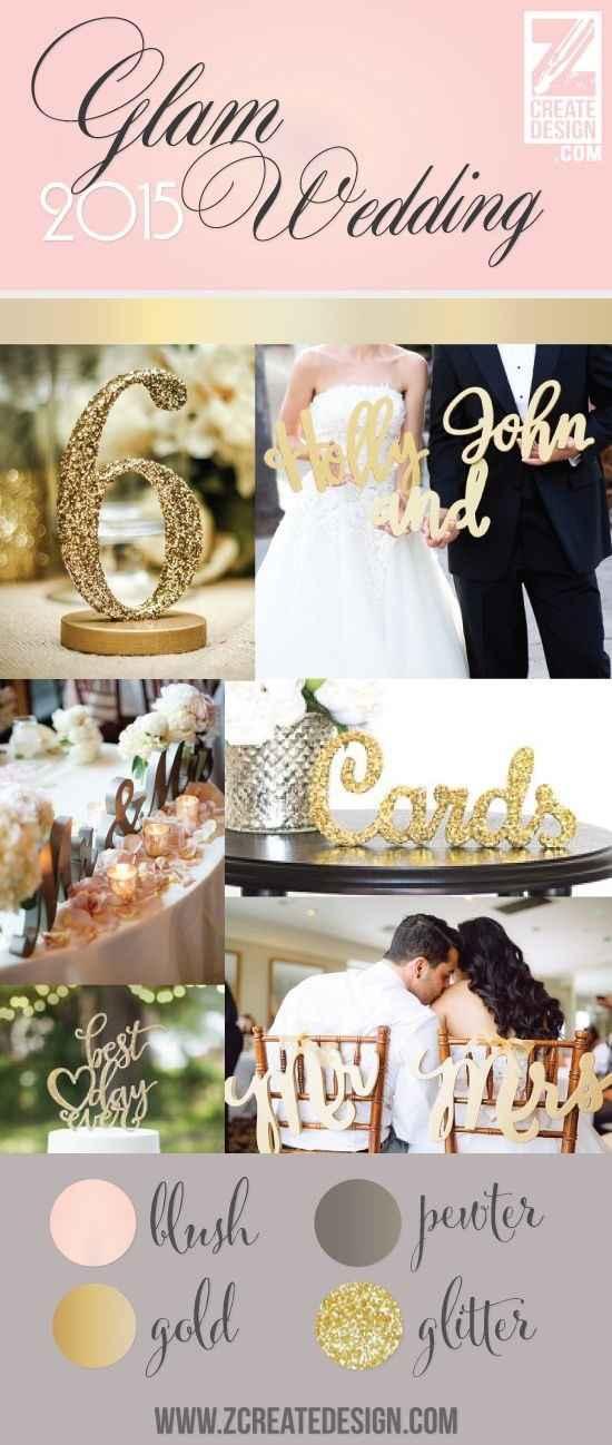 Gold & White