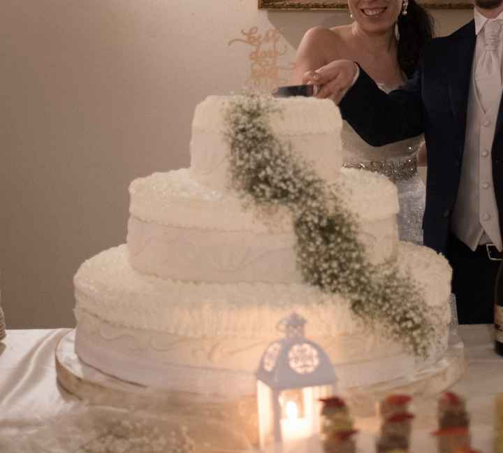 Ecco la mia torta!