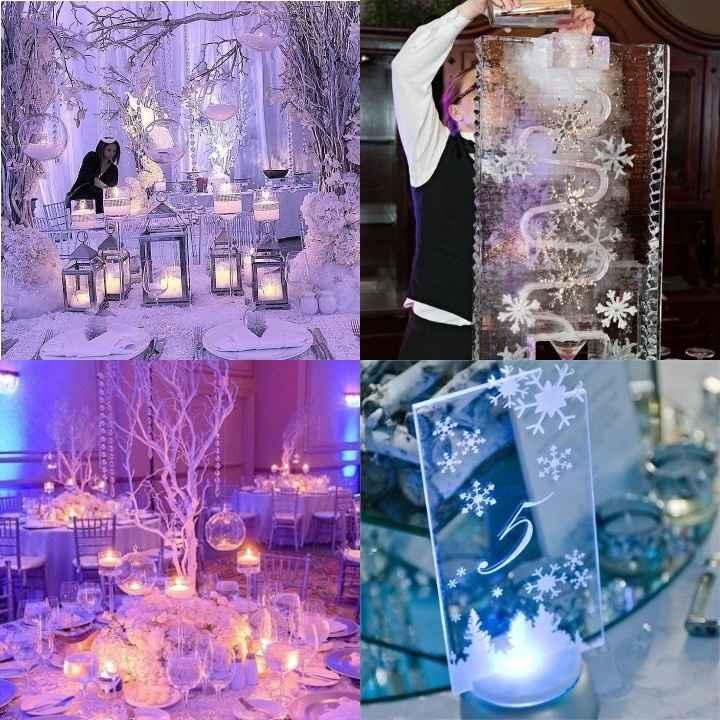 Matrimonio d'inverno... ispirazione Frozen ❄️❤️ - 10
