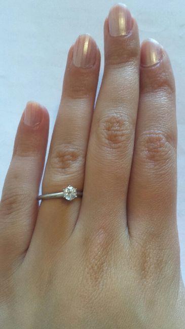 Il mio elegantissimo anello appena ricevuto! - 1