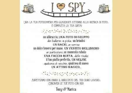 Consigli i spy?? - 1
