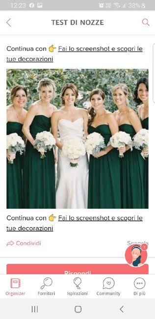 Fai lo screenshot e scopri il vestito delle tue damigelle 30