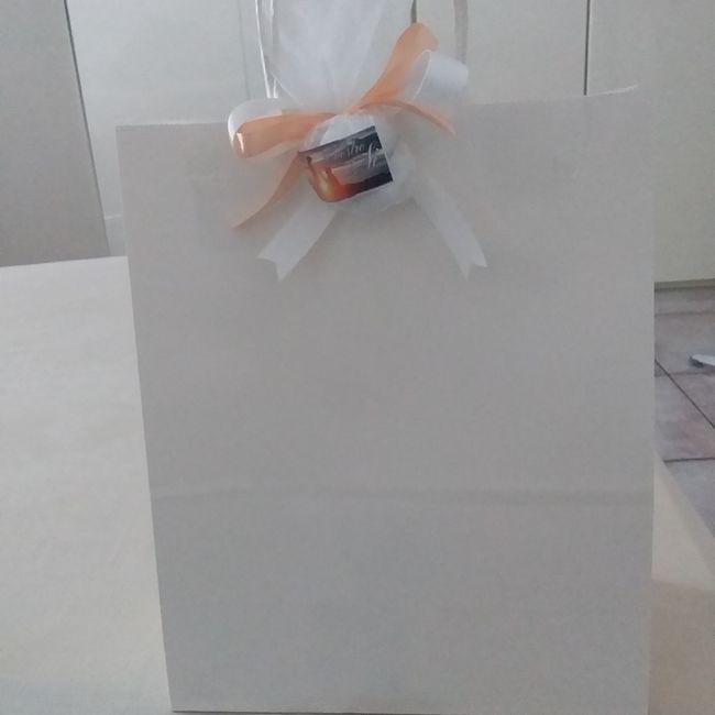 Le mie wedding bag 😍 5