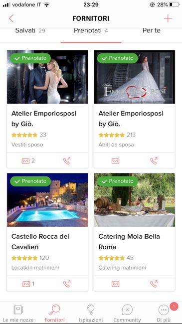 Condividi lo screenshot dei tuoi fornitori 3