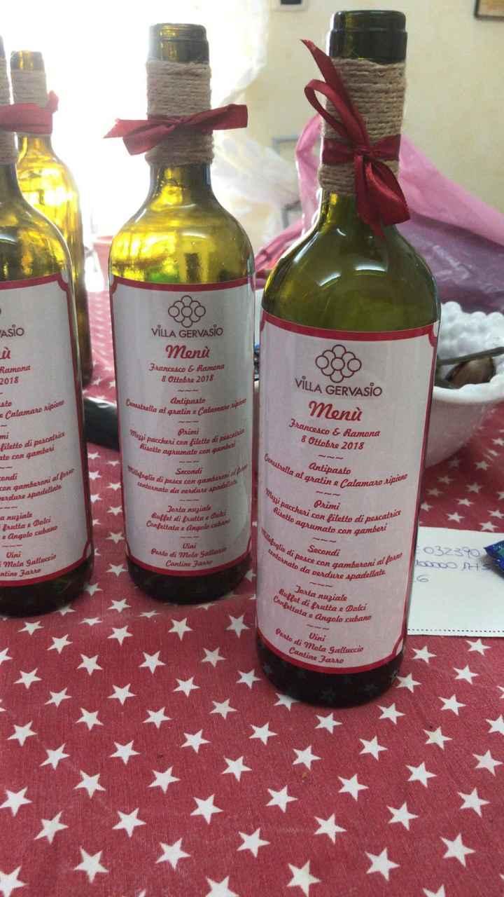 Tableau mariage tema vino - 1