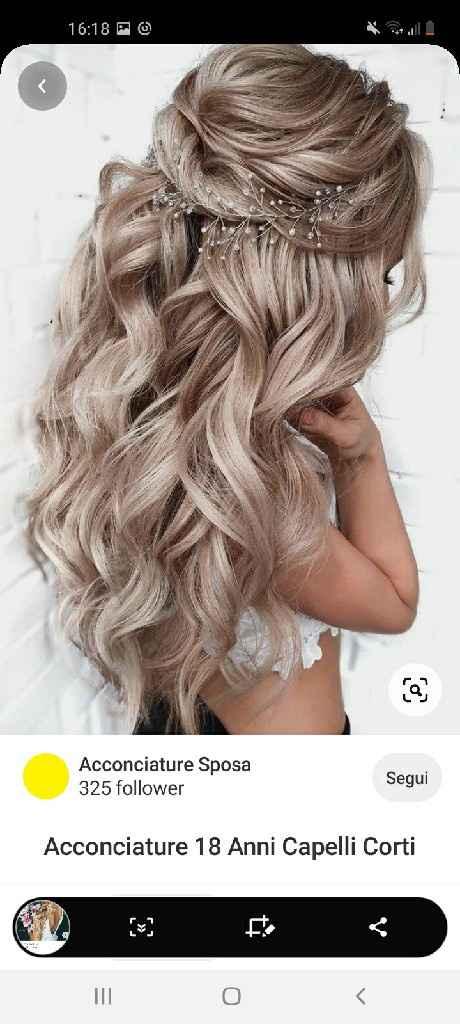 Acconciatura capelli help me - 2