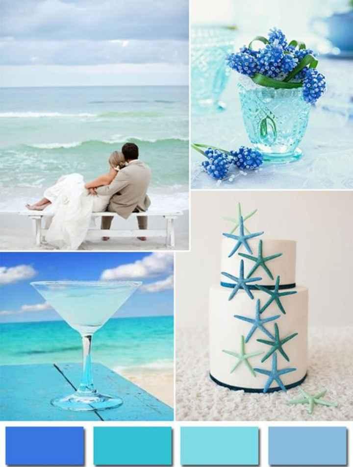 Colori matrimonio tema marino - 1