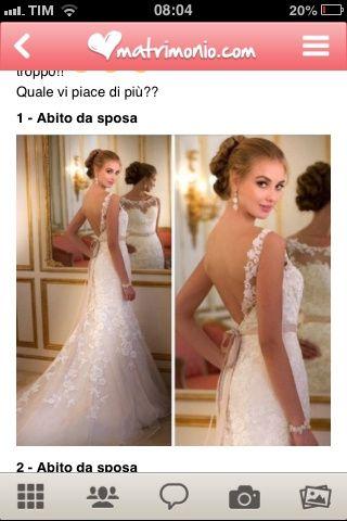 Gli abiti da sposa - 1