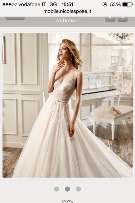 980f05fd69a9 Abito nicole 2016 - Moda nozze - Forum Matrimonio.com