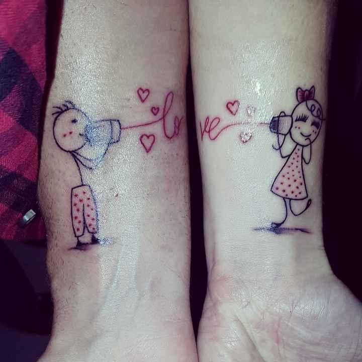 Tatuaggi di coppia 💑 - 1