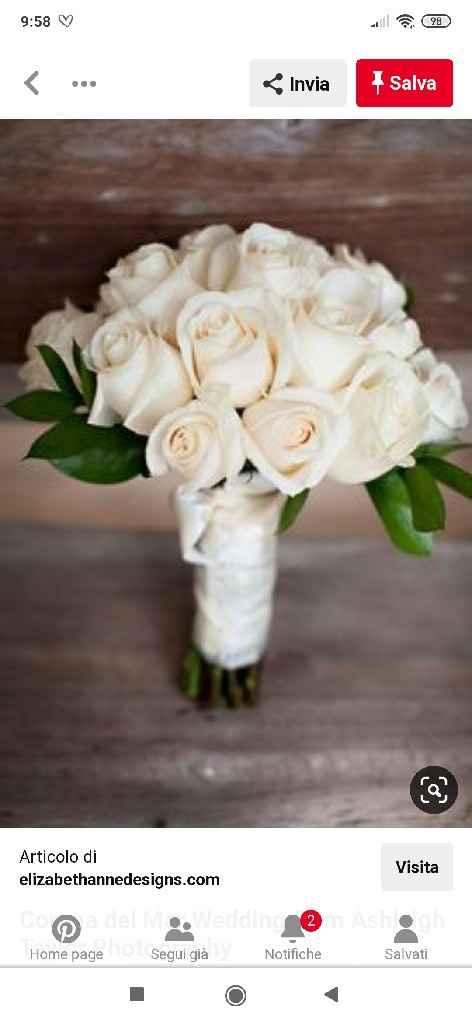 Boquet rose bianche ... Dubbi 😅 - 8