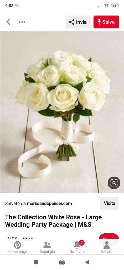 Boquet rose bianche ... Dubbi 😅 - 9