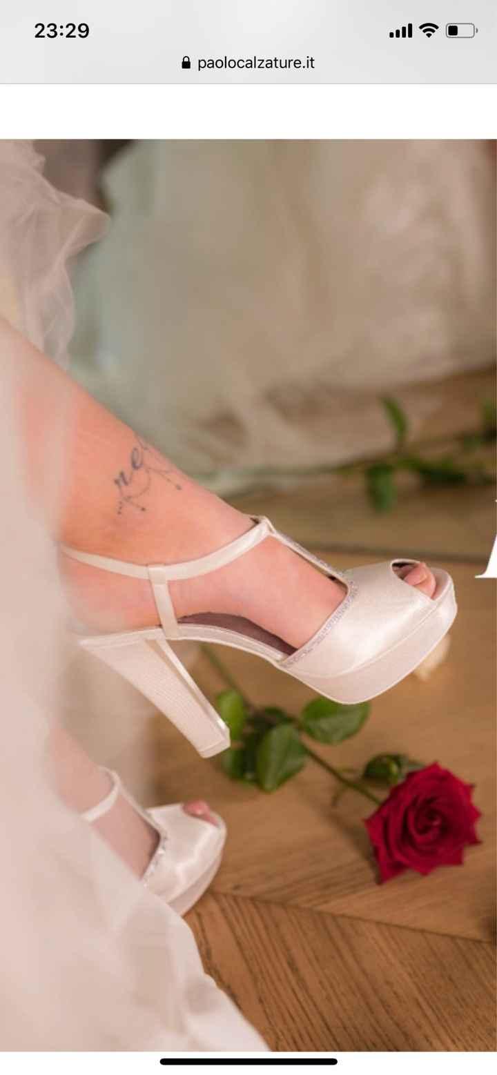Che scarpe avete scelto per il vostro matrimonio? - 1