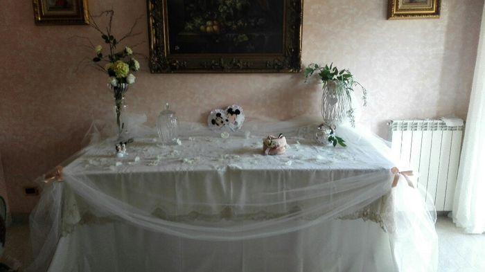 Tavolo sposa organizzazione matrimonio forum - Addobbo tavolo casa della sposa ...