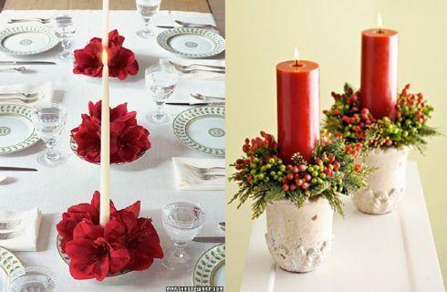 Tutto natale ricette foto idee addobbi forum - Centro tavola natalizio fai da te ...