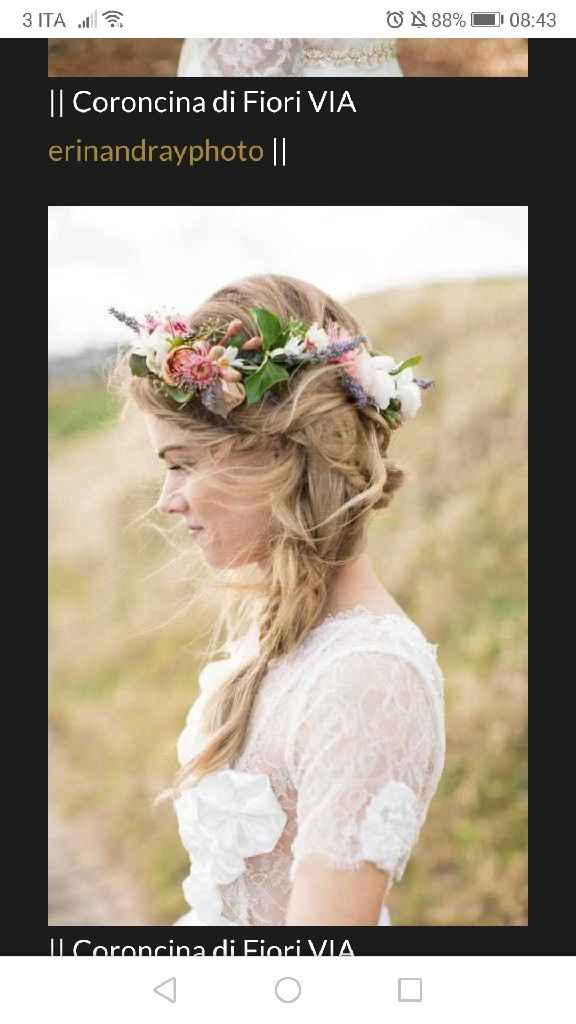 Coroncina di fiori 😍 - 3