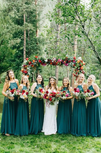 Matrimonio colorato e le damigelle?? 2
