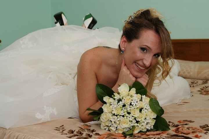 Bouquet fiori verdi - 1