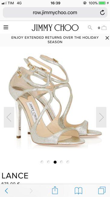 e82e545111a9 Comodità scarpe Jimmy Choo - Moda nozze - Forum Matrimonio.com